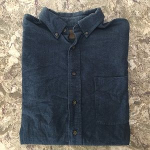 Men's St John's Bay Heavy Cotton Shirt - Size M
